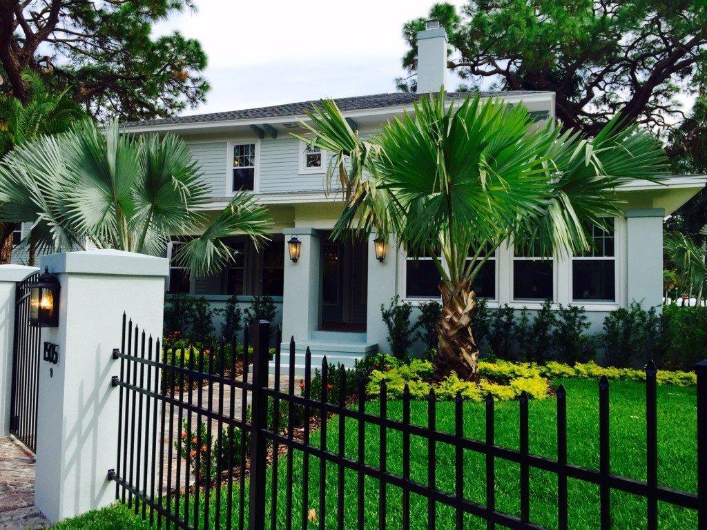 Vista Esterna Villa a Sud di Tampa